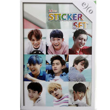 Korean POP STAR EXO Photo Sticker 16pcs KPOP Star New