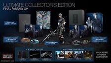 jeux collector final fantasy XV neuf ps4