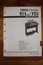 Yamaha Electone EL-15  Service Manual