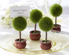 New Arrival TreeTopiary Place Card Holder Wedding Favors 20pcs Free Shipping