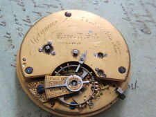 Antique Molyneux Southampton Row Key Wind pocket watch #61316 signed Russell Sqr