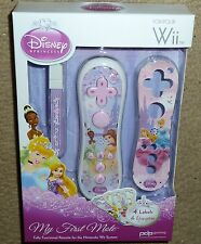 NINTENDO WII & U Disney Princess WIIMOTE REMOTE CONTROL BRAND NEW My First Mote