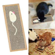 Pet Cat Scratching Pad Mat Flat Board Bed Scratcher Post Pole Catnip Play Toy