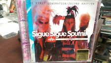 Sigue Sigue Sputnik First Generation/2econd Edition CD Gold Disc Love Missile