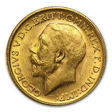 Great Britain Gold Sovereign George V - SKU #41791