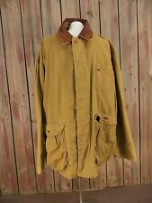 American Eagle Outfitters Jacket Tan Barn Coat Unlined Leather Collar Men's  XL