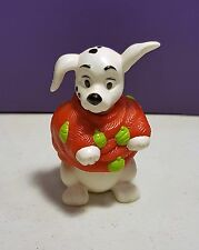 McDonalds Happy Meal Toys 101 Dalmatians DALMATIONS DOGS #17 Red sweater