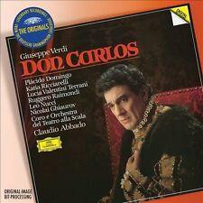 Verdi: Don Carlos (CD, Oct-2013, 3 Discs, DG Deutsche Grammophon)