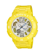 CASIO BGA-170-9B Baby-G Ana-Digi Neon Light Resin Strap Yellow