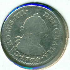 1774 Mo MEXICO 1/2 REAL, GOOD, GREAT PRICE!
