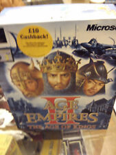 MICROSOFT AGE OF EMPIRES II THE AGE OF KINGS