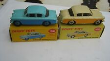 DINKY 166 SUNBEAM RAPIER PAIR OF VERY GOOD ORIGINALS IN STILL GOOD ORIGINALBOXES