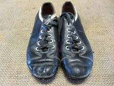 Vintage Childs Leather Baseball Cleats   Old Antique Equipment Size 3 Shoes 8834