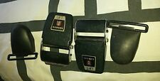 JAGUAR XKE 120 120 AUSTIN.HEALY MERCEDES 113 KANGOL SEAT BELT BUCKLES AND HANGER