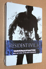 "Resident evil 6 Steelbook ( G1 xbox 360 ) New & Sealed  ""NO GAME / Kein Spiel"""