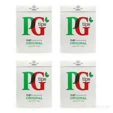 New PG Tips 240 Original Pyramid Tea Bags x4