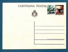 "ITALIA - Luogotenenza - Cart. post. - 1945 - Democratica - ""Fiaccola"" - £. 1,20."