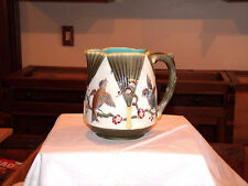 ANTIQUE WEDGWOOD MAJOLICA PITCHER VICTORIAN AESTHETIC