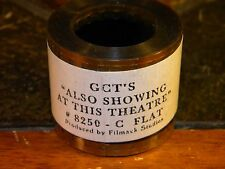 "35mm Film Movie Trailer GCT'S ""ALSO SHOWING AT THIS THEATRE"" #8250 Flat"