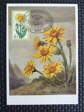 Berlín Mk 1975 513 Alpes flores Arnica maximum mapa maximum card mc cm c4969