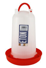 Eton robust 3-litre chicken drinker poultry water freestanding or hanging