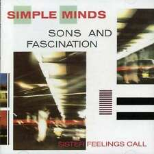 Sons And Fascination - Simple Minds CD VIRGIN