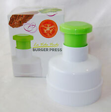 NEW HAMBURGER BURGER PATTY PRESS SHAPER WITH PUSH DOWN HANDLE APOLLO