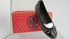 $265 Tory Burch Women's Verben-Tribal Pitine Snk Smoke Roccoa/Black  SZ 7. 5 M