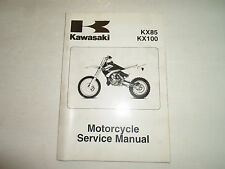 2001 2002 2003 2004 2005 Kawasaki KX85 KX100 Service Repair Shop Manual NEW