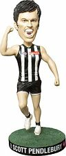 "AFL - Scott Pendlebury 8"" Collingwood Magpies Bobble Head (Elite Sports) #NEW"