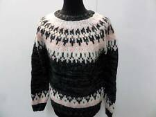 "M.J.Coirroll Jumper Sweater Ladies Multi SIZE M 36"" Chest Grade B BA174"