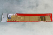 Artwox 1/700 IJN Aircraft Carrier Kaga Wooden Deck Set w/PE for Fujimi #431253