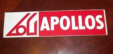 Decals / Sticker  Apollos scoccer  logo  1970's