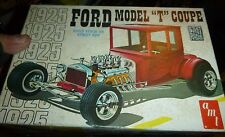 AMT T128 1925 FORD 'T' COUPE STREET ROD SERIES MODEL CAR MOUNTAIN KIT VINTAGE