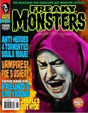 FREAKY MONSTERS MAGAZINE #27 Vincent Price JEKYLL & HYDE House of Usher DRACULA