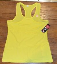 Fila Sport Racer Back Performance Tank  Smart Phone Media Pocket XL