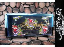Black  Ed Hardy  Silk Bowtie Bow Tie  Christian Audigier Skull  Tattoo MSRP $49