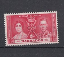 Barbados 1937 incoronazione Giorgio VI 164  MNH