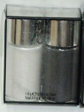 New Hard Candy 2 Pc Set POPPIN PIGMENTS Loose Eye Shadow Duo SALT & PEPPER 596