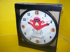 CHICAGO BULLS BENNY THE BULL IN WHITE JERSEY WALL CLOCK - 2014 2015 SGA - NEW