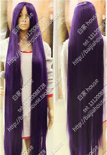 2016 new wig 150cm 60'' Purple Long straight hair Christmas costume party wig