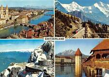 Switzerland Pilatus Cable Car Lift Luzern Tower Bridge Zurich Eiger Monch Train