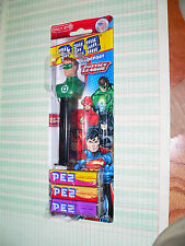 Pez  Green Lantern on Justice League Card  2 times the candy
