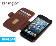 Kensington Passport Wallet Apple iPhone 5 5S Flip Cover Folio Case Builtin stand
