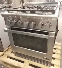 "NEW OUT OF BOX 30"" STAINLESS DCS GAS 5 BURNER RANGE DUAL FUEL RDU305"