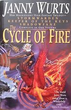 JANNY WURTS THE CYCLE OF FIRE SOFTCOVER JUN 1999 1ST EDITION ULTRA-RARE LONG OOP