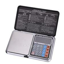 500g x 0.01g Digital Pocket Scale High Precision with Pieces Counting-Calculator
