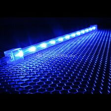 BARRA LED 30cm Luce BLU Meteor MODDING AUTO MOTO VETRINA PENSILE PC COLORE NEON