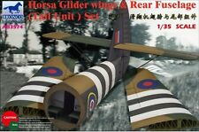Bronco 1/35 Airspeed A.S.51 Horsa Glider Mk.I Wings & Rear Fuselage (Tail Unit)
