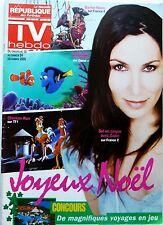Mag TV HEBDO 2005: ZAZIE_CRISTIANA REALI_Yannick NOAH